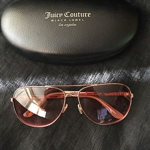 Juicy Couture Black Label 59mm Aviator Sunglasses